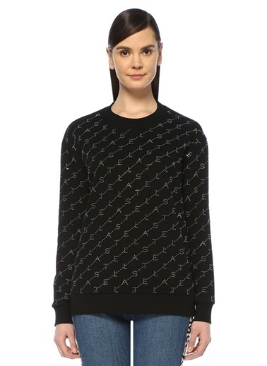 Stella McCartney Sweatshirt Siyah